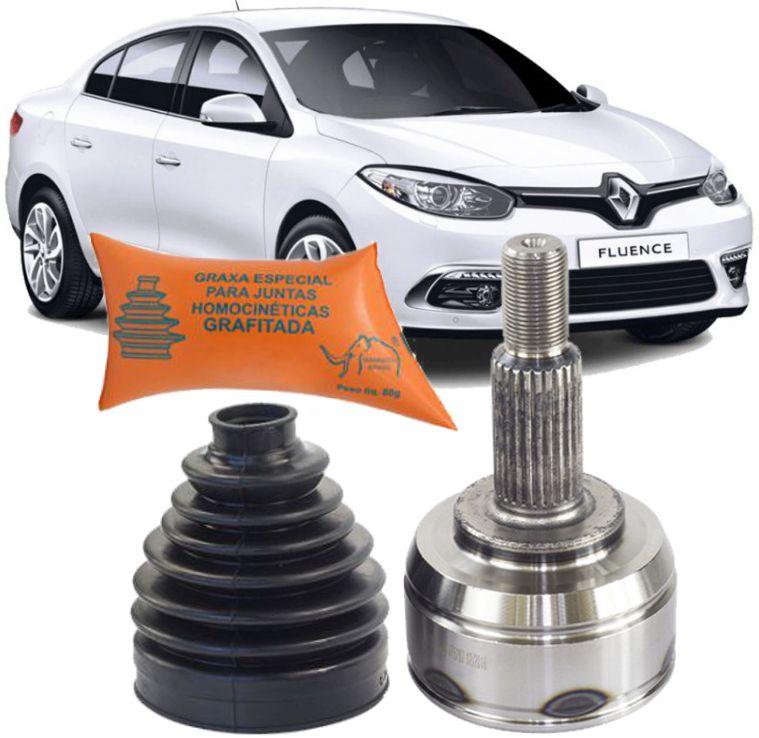Junta Homocinetica Renault Fluence 2.0 16v CÂMbio Automatico De 2011 À 2017 - 24x25
