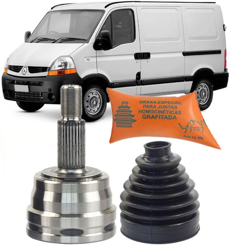 Junta Homocinetica Renault Master 2.8 E 2.5 16v Dci De 2003 A 2015 Sem Freio Abs