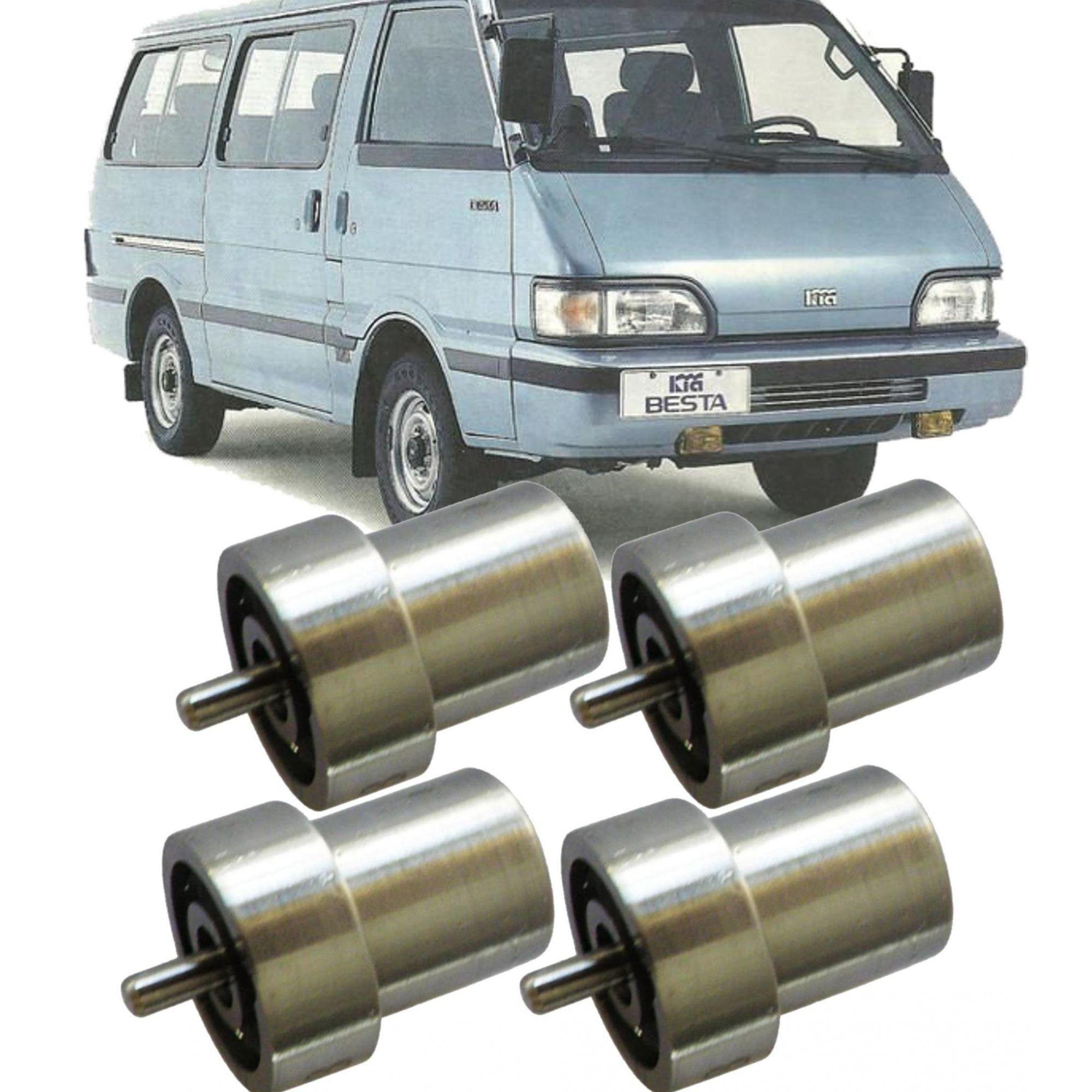 Kit 4 Bico Injetor Diesel Besta 2.2 Kombi 1.6 Topic Diesel - Dnosd193
