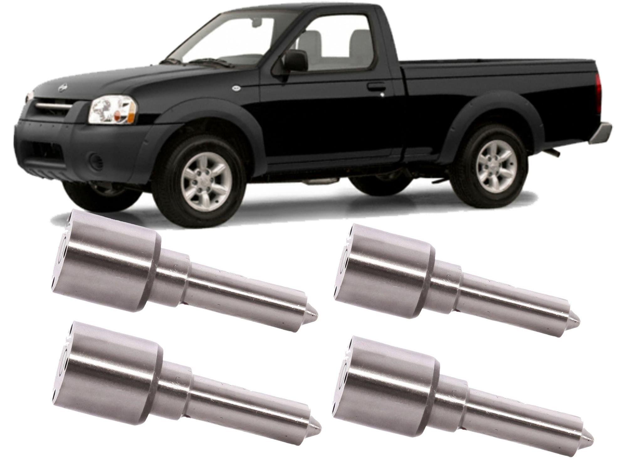 Kit 4 Bico Injetor Diesel Nissan Frontier e X-Terra 2.8 Mwm Turbo Intercooler de 2000 a 2005 - DSLA145P975