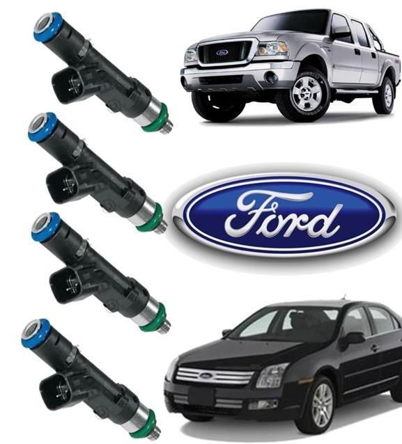 Kit com 04 Bico Injetor Ford Fusion 2.3 16v Ranger 2.3 0280158105 Original