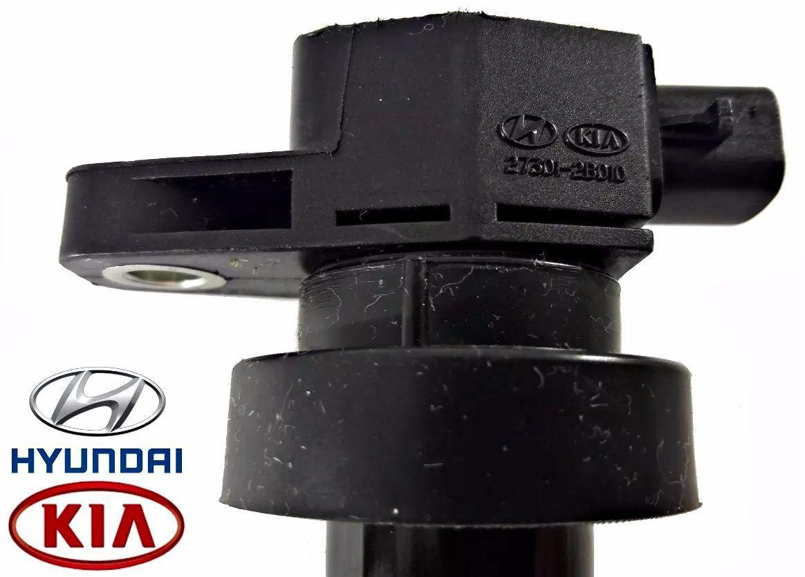 Kit com 04 Bobinas de Ignicao Kia Cerato Soul 1.6 Hyundai I30  27301-2B010 Original