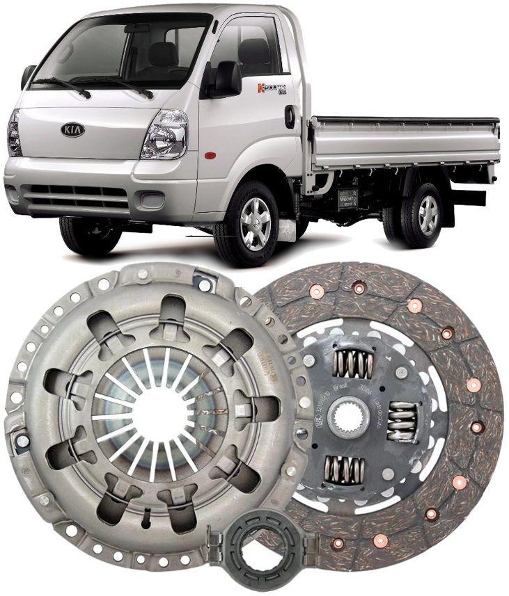 Kit De Embreagem Hyundai Hr E Kia Bongo 2.5 Tci Diesel 2005 A 2012