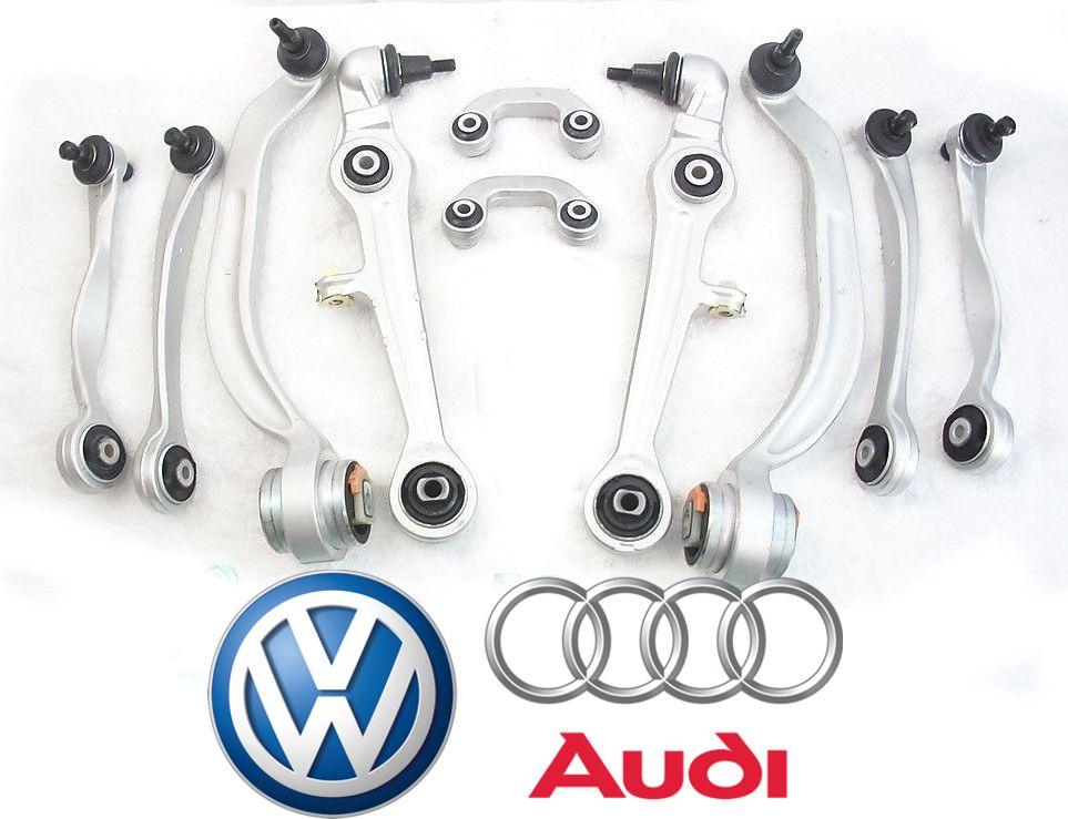 Kit de suspencao completo de Bracos Oscilantes de suspensao Passat Audi A4 e A6 Pivo - Cone de 20mm