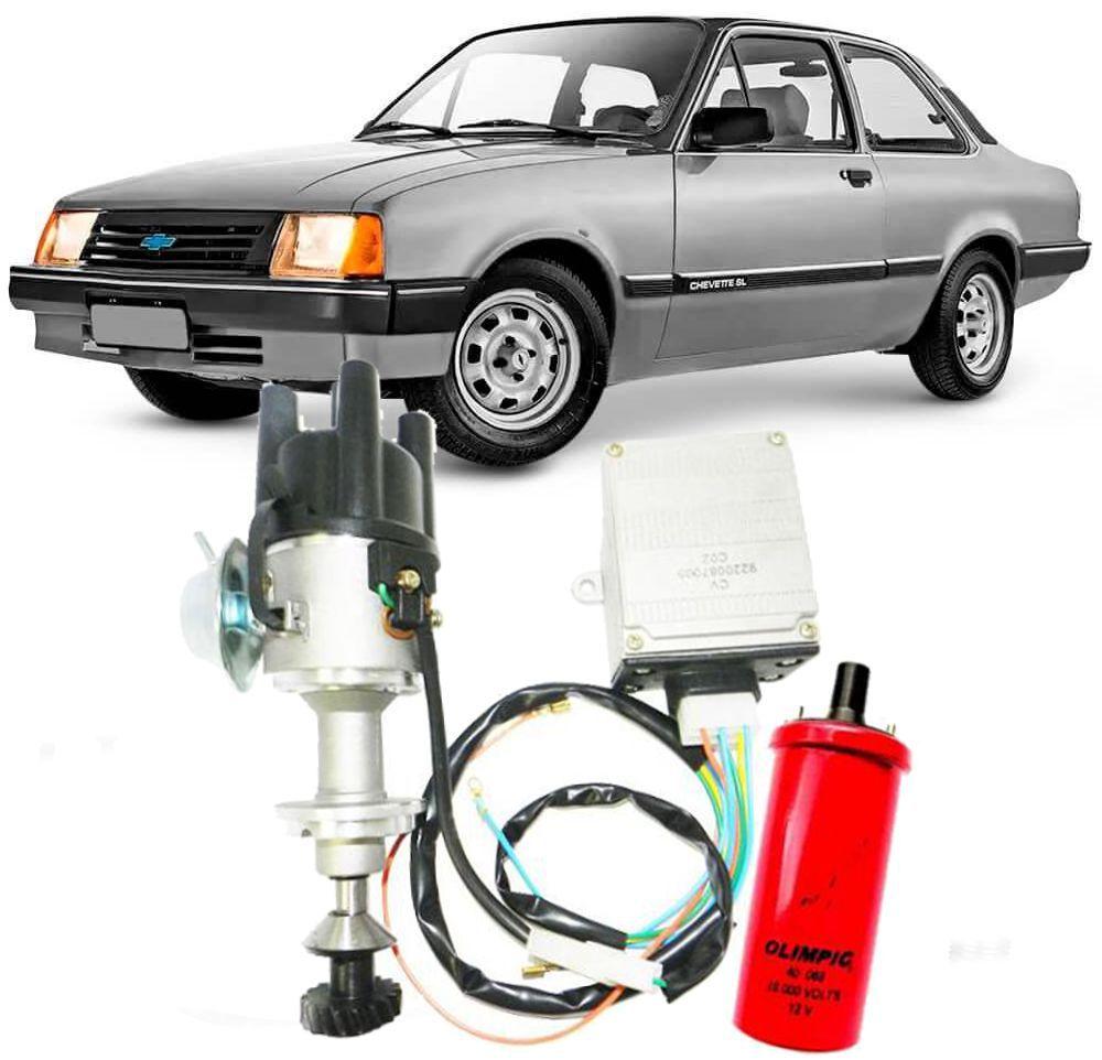 Kit Ignição Elêtronica Chevette 1.6 e 1.4 de 1973 à 1995