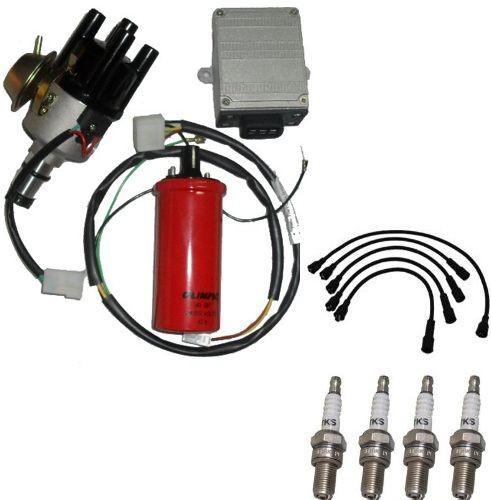 Kit Ignicao Eletronica Opala Caravam motor 4cc Novo  velas cabo de velas