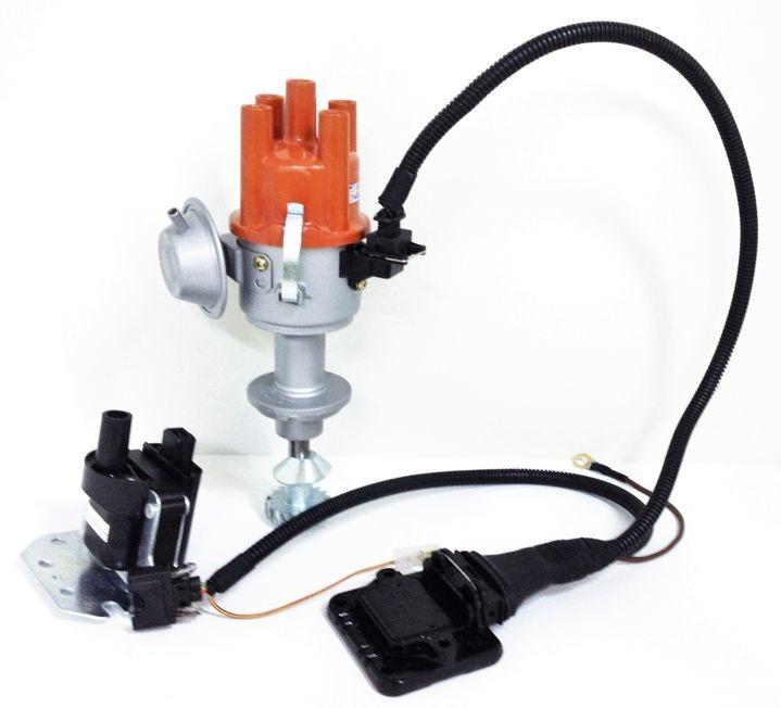 Kit Ignicao Hall Distribuidor Chevette Chevy 1.4 1.6 Com Carburador