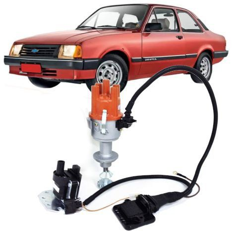 Kit Ignicao Hall Distribuidor Chevette Chevy 1.4 1.6 Injecao
