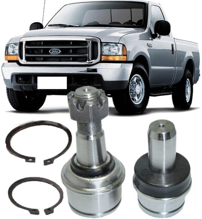 Kit Pivo de Suspensao Superior E Inferior Ford F250 e F350 Super Duty 4x2 de 1998 à 2012