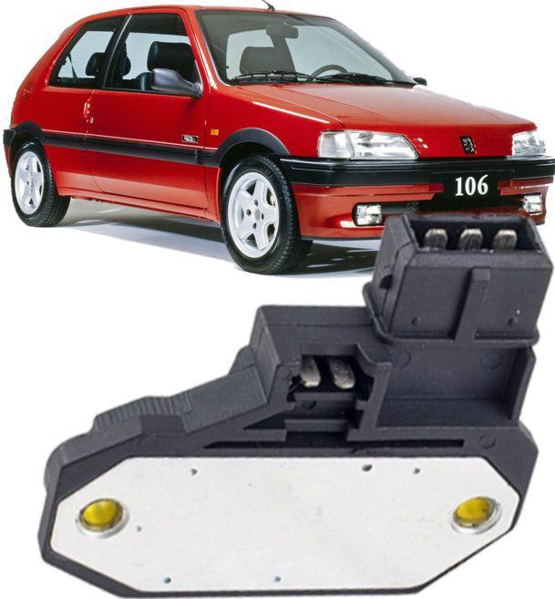 Modulo de Ignicao Citroen Zx Peugeot 106 205 1.0 1.1 e 1.4 de 1991 à 1996