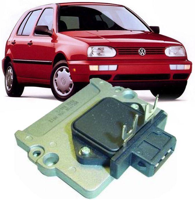 Modulo De Ignição da Bobina Golf Gl 1.8 e 2.0 Glx Gti de 1994 à 1998