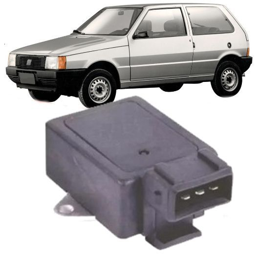 Modulo de Ignicao Fiat Uno 1.0 90/ Premio Elba 1.5 3 Pinos