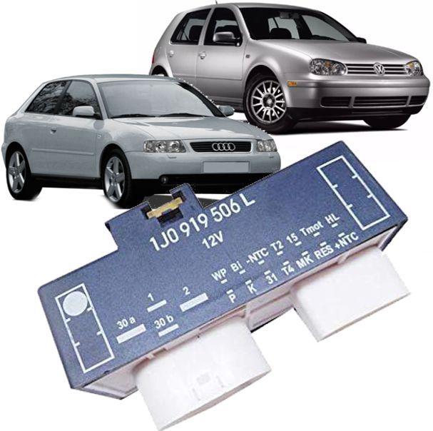 Modulo Rele Comando Ventuinha Ar Condicionado Audi Golf Polo de 1998 a 2013 - 1J0919506