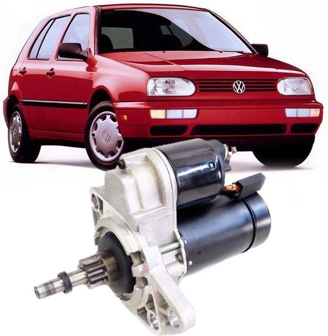 Motor de Arranque Partida Golf Audi A3 Passat 1.8 e 2.0 1993 a 1998 Cordoba e Ibiza