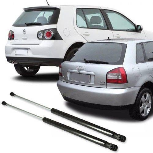 Par de Amortecedor da tampa traseira porta mala Audi A3 Golf de 1999 à 2014 Polo Hatch