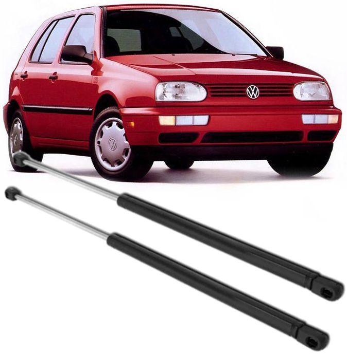 Par de Amortecedor da tampa traseira porta mala Golf Gl Glx Gti de 1994 à 1998