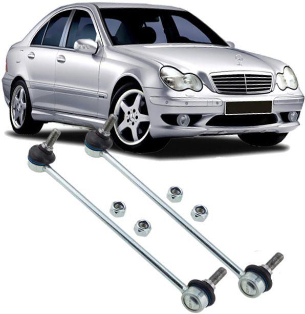 Par de Bieleta Dianteira Mercedes W203 C180 C200 C250 E200 de 2000 à 2007