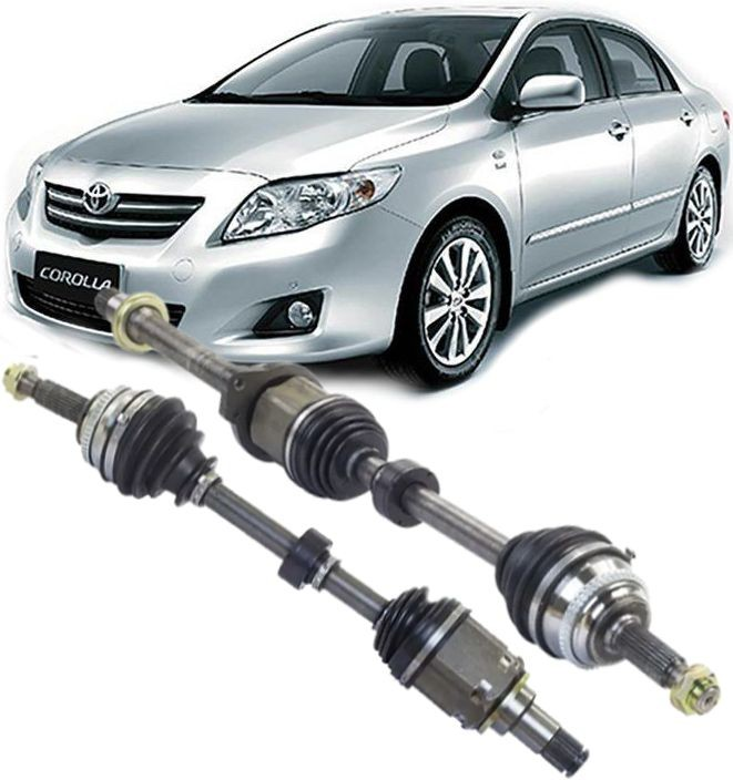 Par de Semi Eixo Homocinetico Toyota Corolla 2.0 Apos 2009 a 2014
