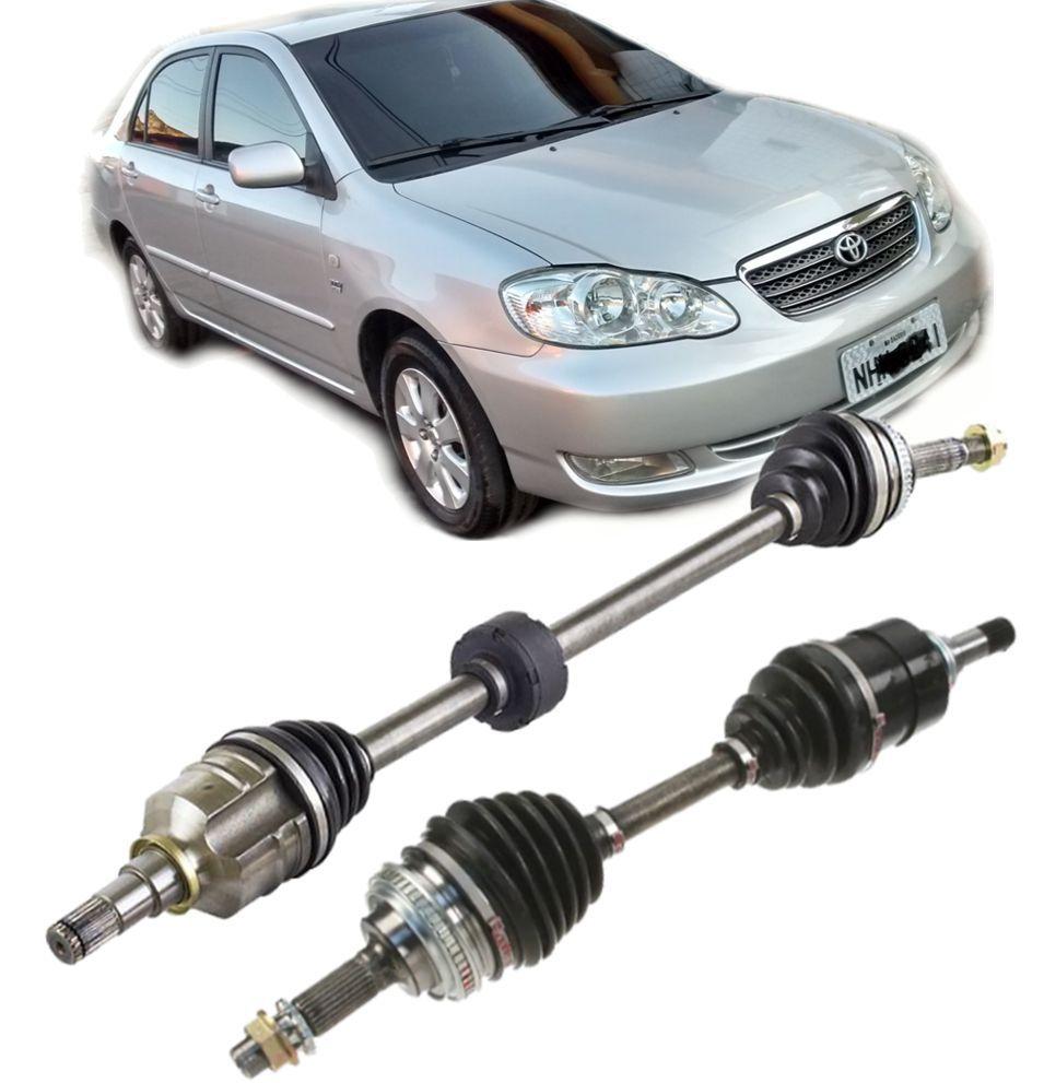 Par de Semi Eixo Homocinetico Toyota Corolla e Fielder 2003 a 2008 Automatico