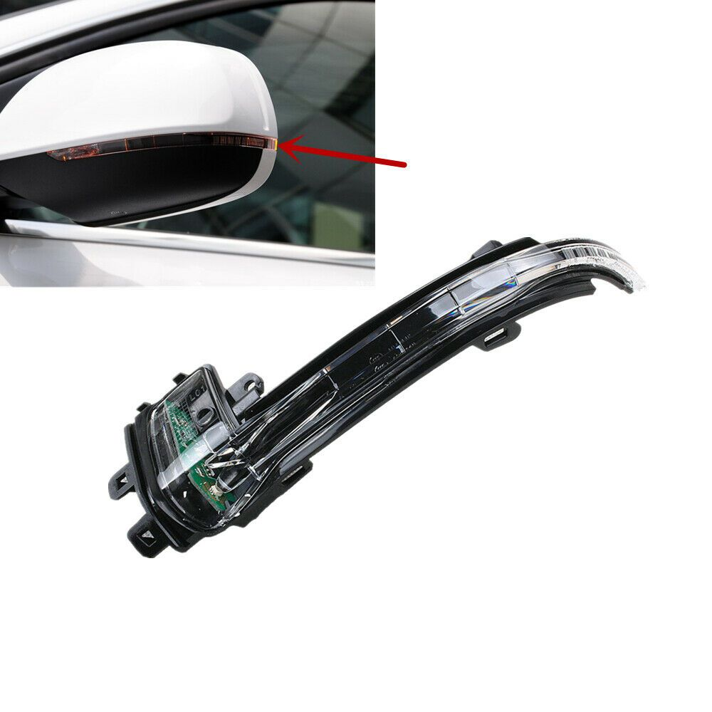 Pisca Seta Retrovisor Fora da Capa Audi A4 A5 A6 Q3 Q5 de 2008 à 2015 - Ld Esquerdo