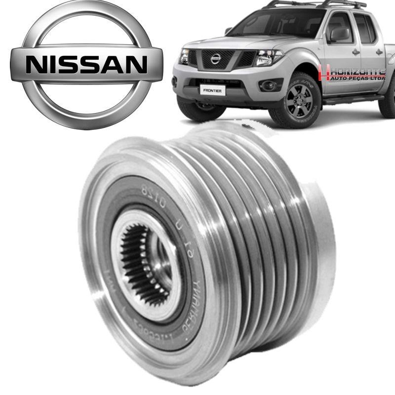 Polia do Alternador da Roda Livre Nissan Frontier 2.5 16v de 2007 a 2015
