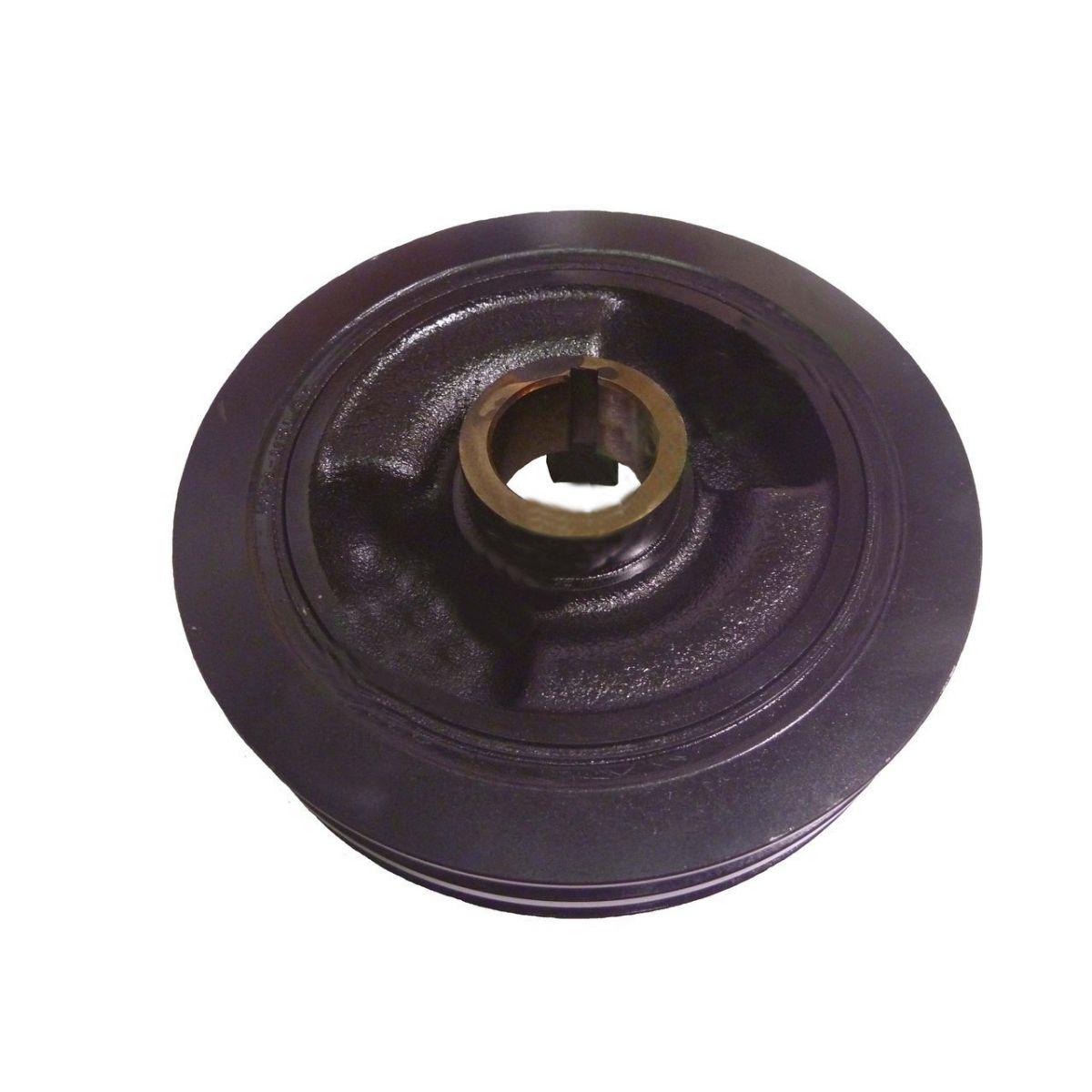 Polia do Virabrequim Dupla Hilux e Sw4 Diesel 2.4 2.8 e 3.0 Aspirado de 1991 a 2004