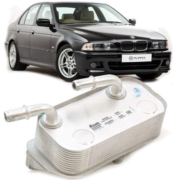 Radiador Resfriador de Oleo Da Caixa Bmw E39 540I E38 740I 740IL 750IL - 17217505823