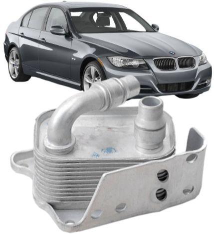 Radiador Resfriador de Oleo Motor BMW 320 X1 X3 120 318I 11427508967