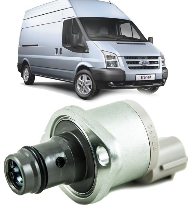 Regulador Pressao Bomba Injetora Ford Transit 2.4 Diesel de 2008 a 2011