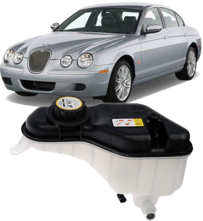 Reservatorio De Agua Radiador Jaguar S-Type / XF 2.5 3.0 e 4.2 2002 a 2007