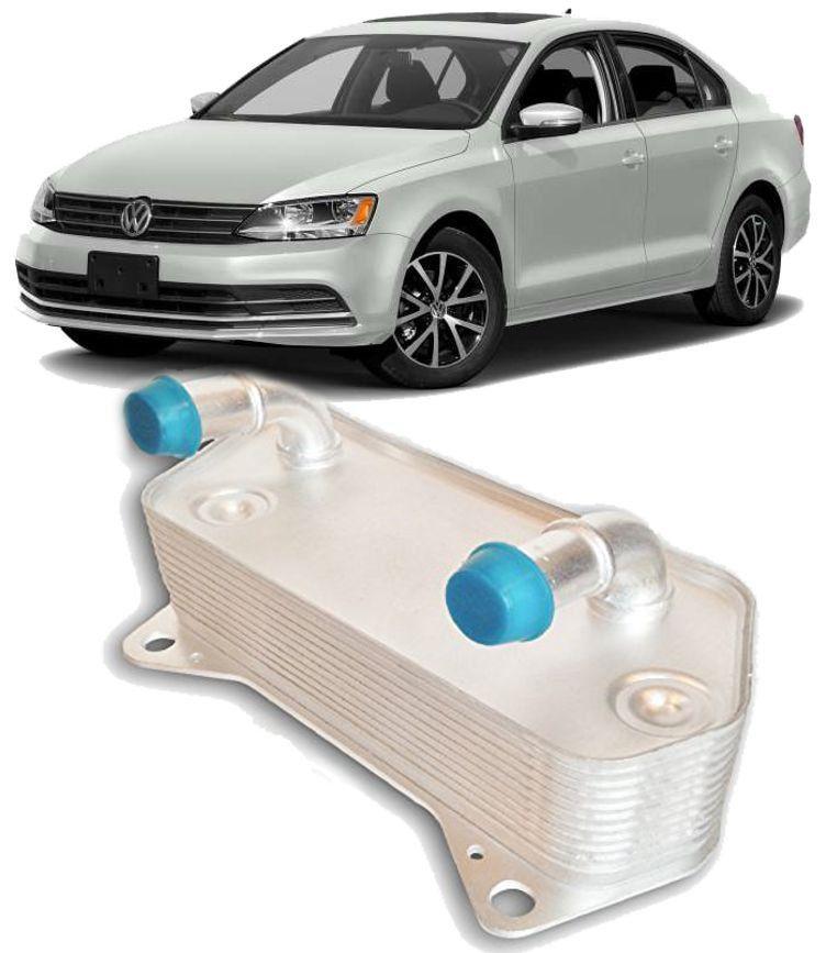Resfriador Trocador de Calor Cambio Audi A3 Golf Jetta Passat Cambio DSG - 02E409061B
