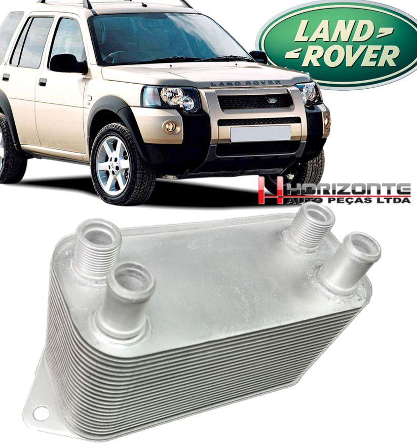 Resfriador Trocador de Calor de Oleo Cambio Land Rover Freelander 1 2.5 24V de 2002 a 2006