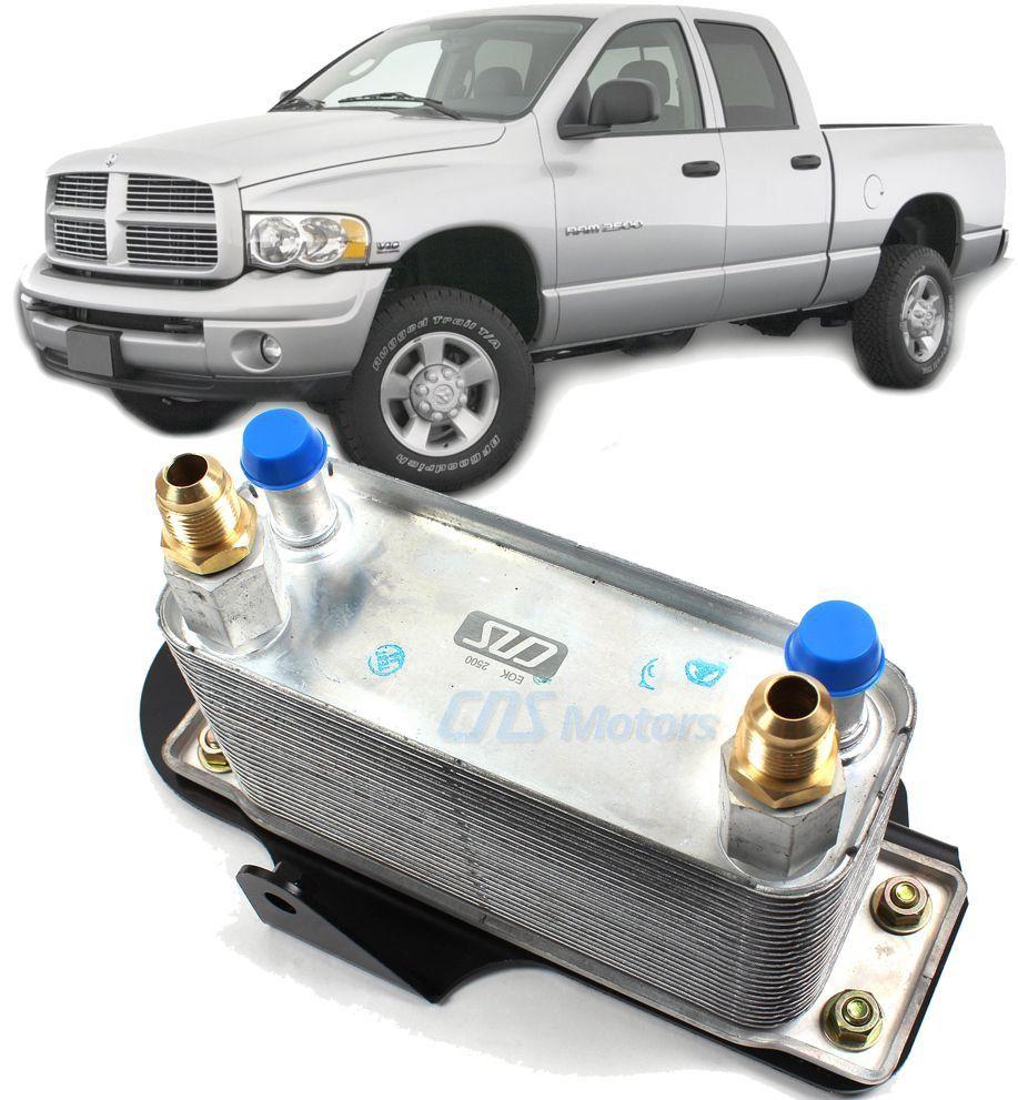 Resfriador Trocador de calor do Cambio Dodge Ram 5.9 Diesel de 2003 A 2009