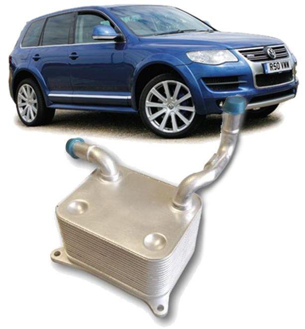 Resfriador Trocador de calor do Motor Audi Rs4 A5 S6 A8 Q7 Touareg 4.2 V8