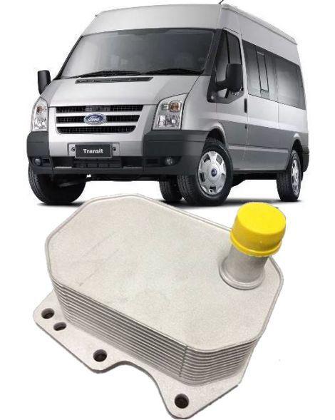 Resfriador Trocador de calor Motor Ford Transit 2.4 16v TDCI de 2009 a 2015