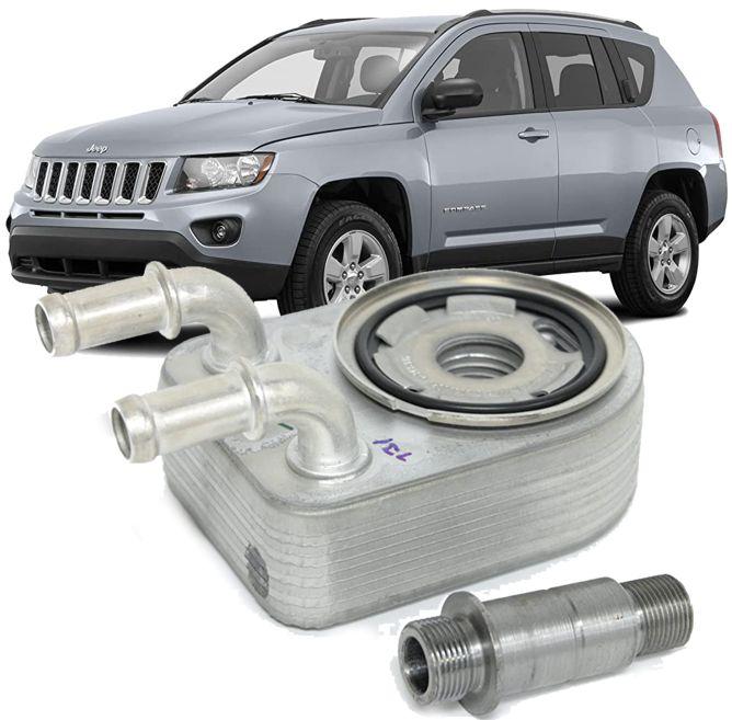 Resfriador Trocador De Calor Motor Jeep Compass Sport 2.0 16v 4x2 À Gasolina De 2011 À 2016