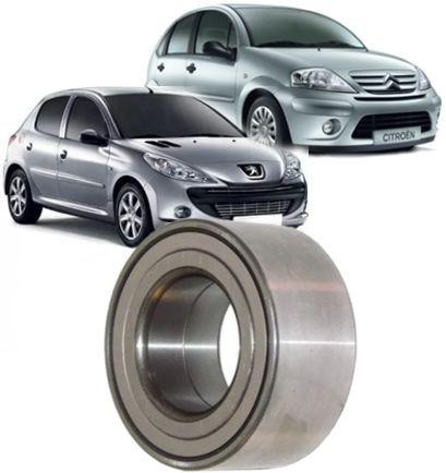 Rolamento de Roda Dianteira 306 405 406 e Partner 1.8 Todos com ABS Citroen