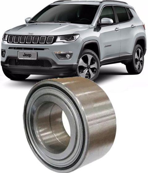 Rolamento de Roda Dianteira Jeep Compass 2.0 16v 4x2 De 2011 A 2019
