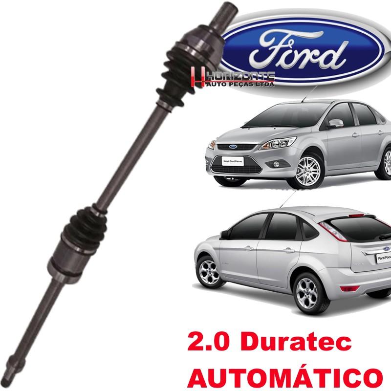 Semi Eixo Homocinetico Focus 2.0 16v Duratech Automatico de 2009 a 2013 Ld Direito