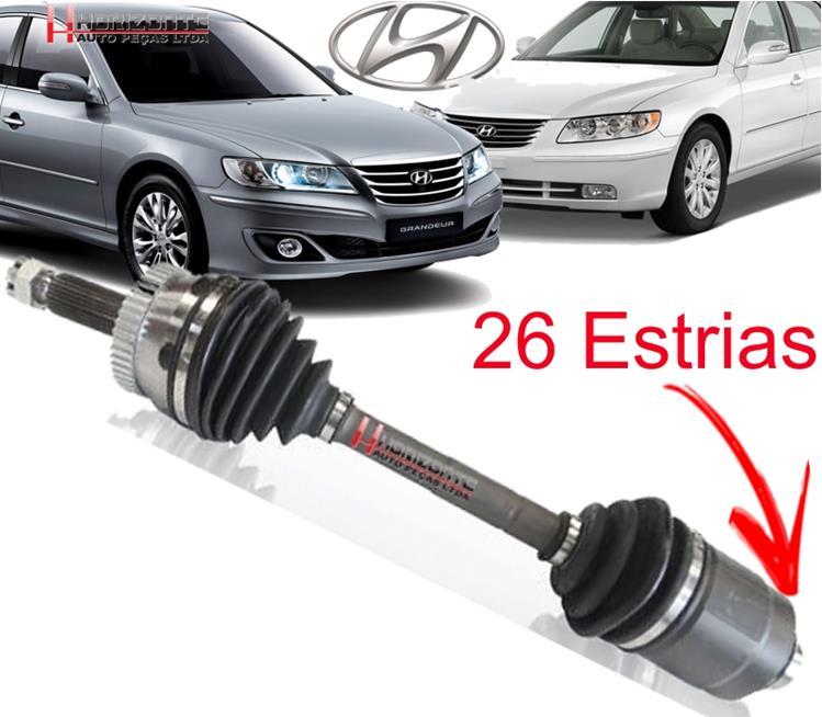 Semi Eixo Homocinético Hyundai Azera 3.3 V6 Lado Direito Fêmea