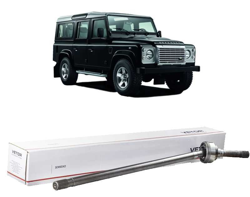 Semi Eixo Homocinetico Land Rover Defender 90 110 e 130 Lado Esquerdo