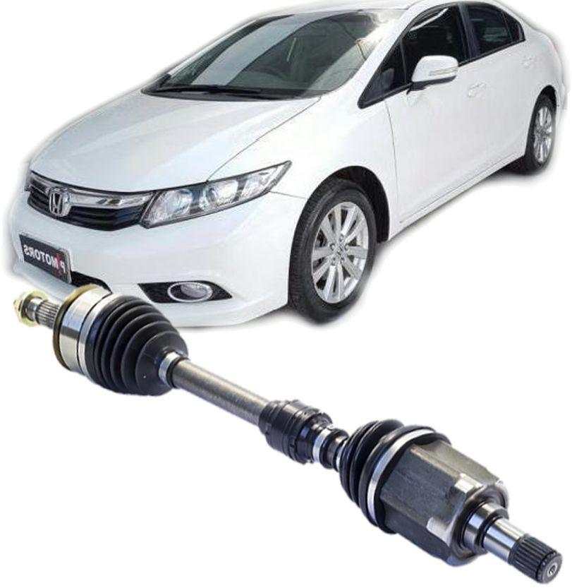 Semi Eixo Homocinetico New Civic 2.0 16v Automatico de 2012 à 2017 - Ld Esquerdo