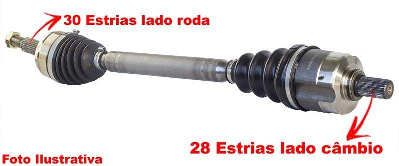 Semi Eixo Homocinetico Pajero Full 3.2 Diesel 3.5 V6 de 2007 a 2016 Lado Esquerdo