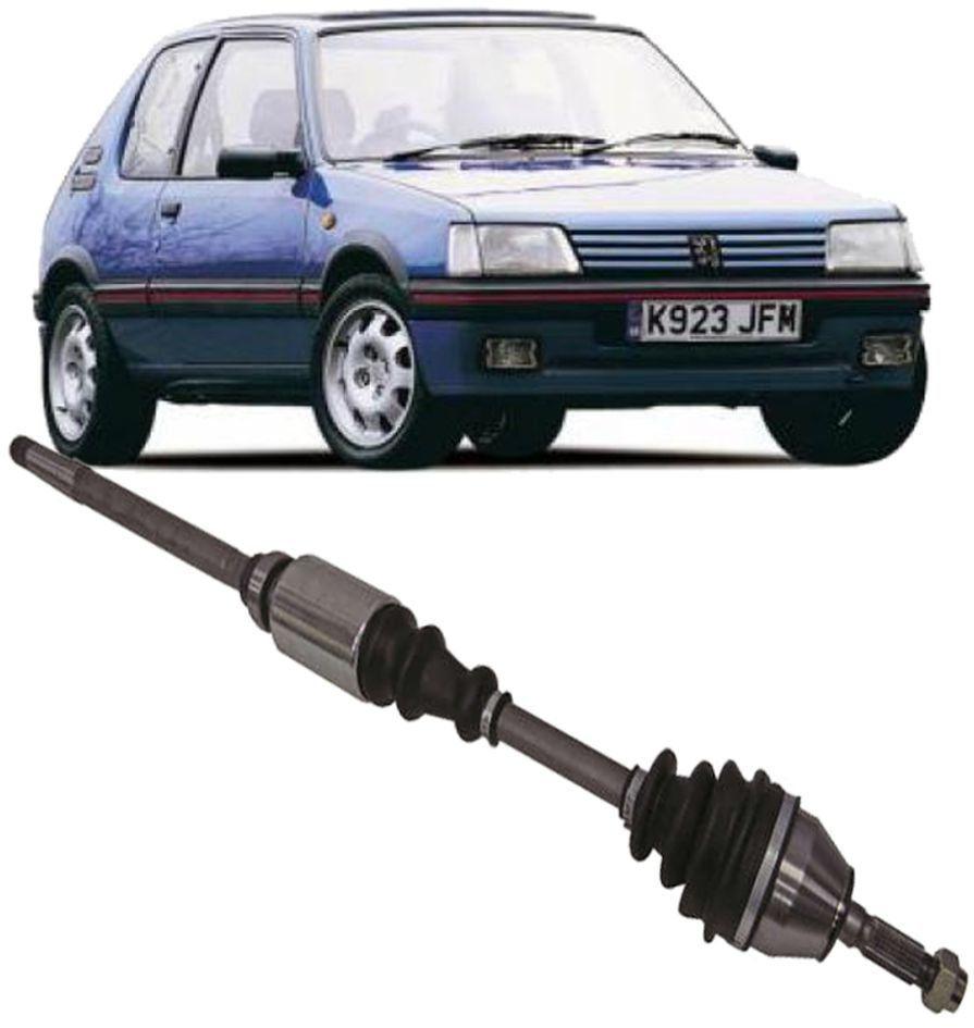 Semi Eixo Homocinetico Peugeot 205 1.4 de 1989 a 1995 Lado Direito