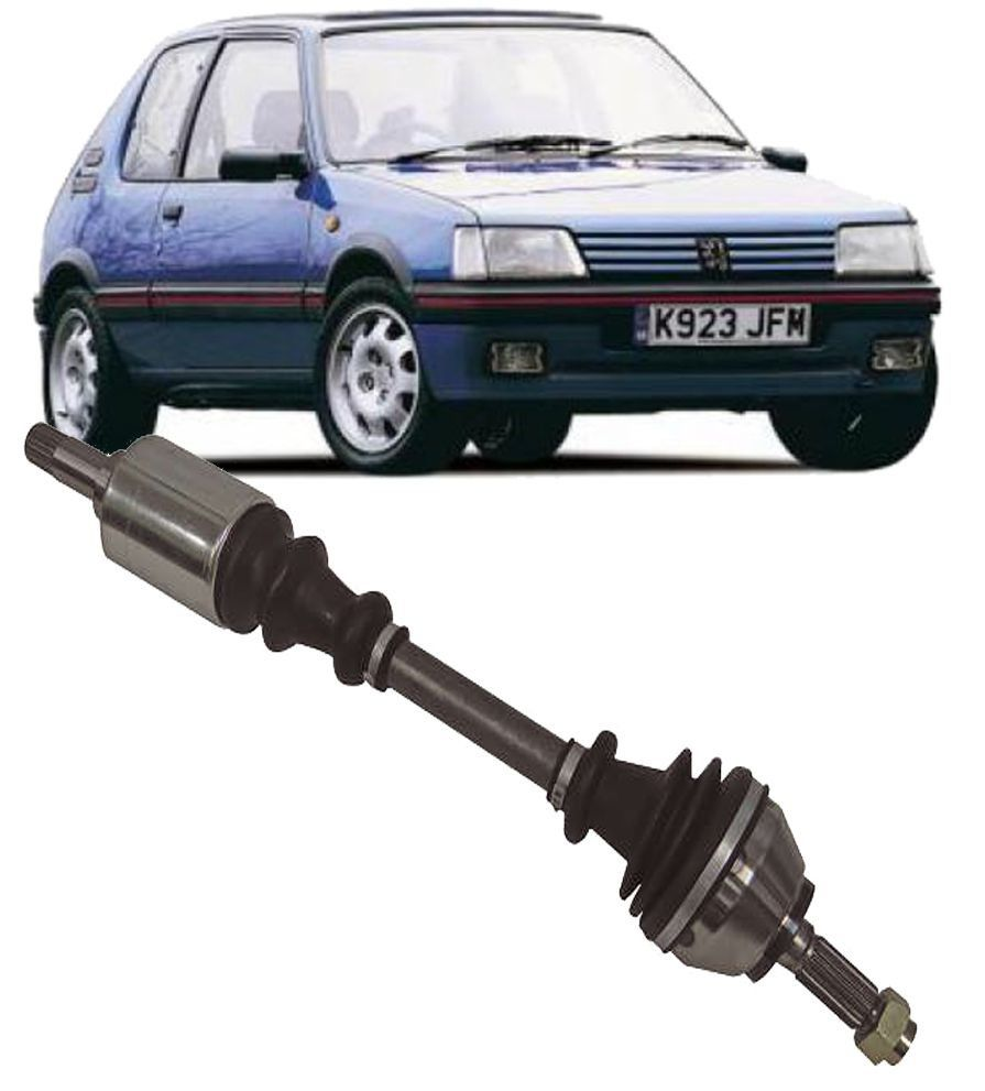 Semi Eixo Homocinetico Peugeot 205 1.4 de 1989 a 1995 Lado Esquerdo