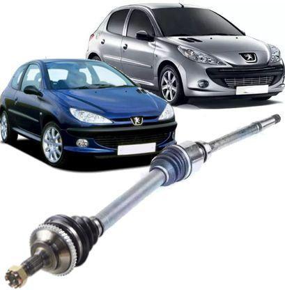 Semi Eixo Homocinetico Peugeot 206 e 207 1.4 8v Lado Direito