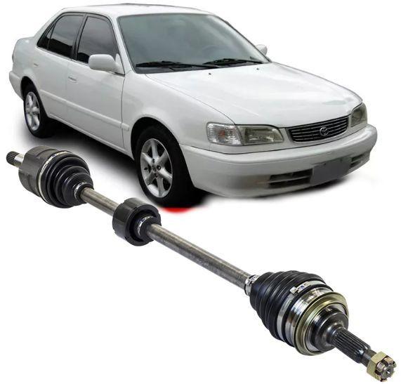Semi Eixo Homocinetico Toyota Corolla 1.8 1998 a 2002 Automatico Lado Direito