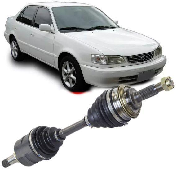 Semi Eixo Homocinetico Toyota Corolla 1.8 1998 a 2002 Automatico Lado Esquerdo