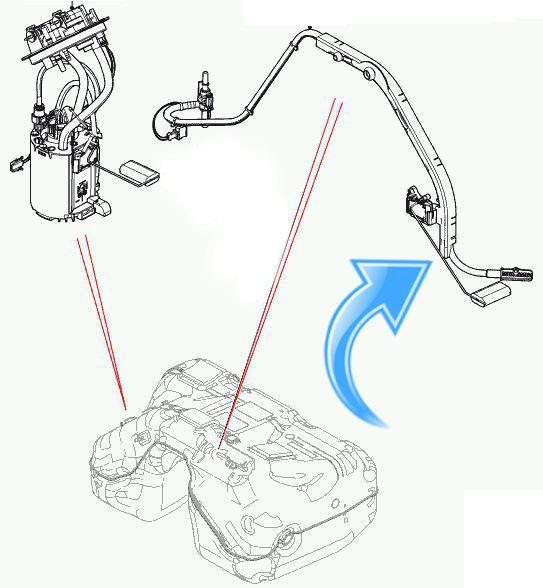 Sensor De Nivel Boia De Combustivel Auxiliar Evoque 2.0 E Freelander 2 3.2