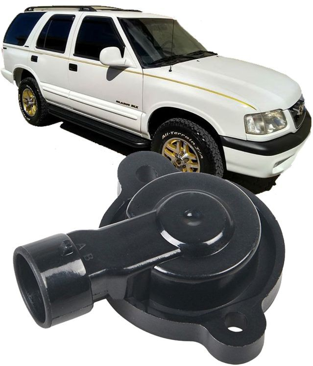 Sensor de Posicao Borboleta Blazer e S10 4.3 V6 Vortec de 1996 à 2006